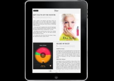 E-reports Interactifs sur iPad