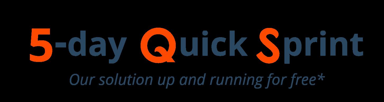 Quick sprint